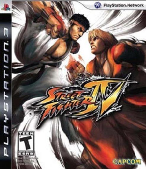 Jogo Street Fighter 4 Ps3 M. Fisica