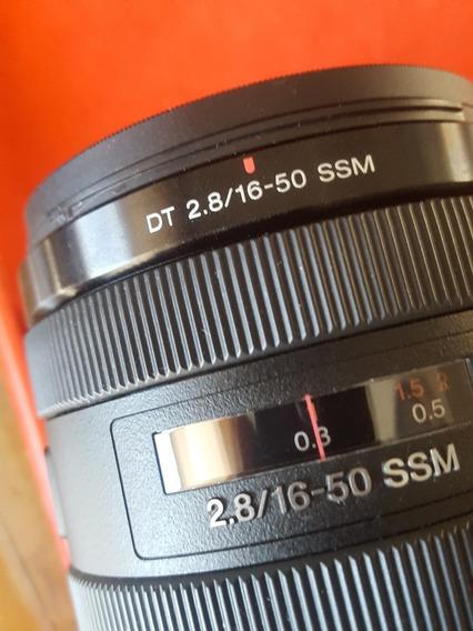 Lente Sony Alpha 16-50mm 2.8 A-mout.