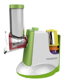 Rallador Eléctrico Peabody Sm326 Con Accesorios 5 Cuchillas