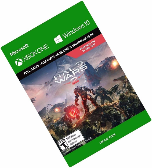 Halo Wars 2 Xbox One Midia Digital Código De 25 Dígitos