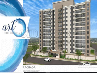 Apartamento Para Venda Em Lançamento No Jardim Independencia, Compre No Plano Minha Casa Minha Vida Art Independencia, 2 Dormitórios Com Varanda 55m² E 60m² Opções Com Suite Com - Ap00026 - 32285244