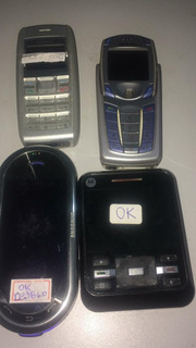 Lote Celulares Nokia 6820,nokia 1600,samsung M7600,motoa45