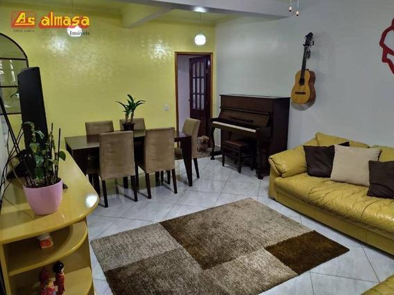 Sobrado Com 4 Dormitórios Mobiliado À Venda, 225 M² Por R$ 750.000,00 - Jardim Vila Galvão - Guarulhos/sp - So0165