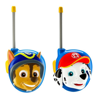 Paw Patrol Walkie Talkies Chase Y Marshall Camion Patrulla