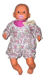 Muñeco Bebe Manos Y Piernas De Plastisol Ojo Fijo