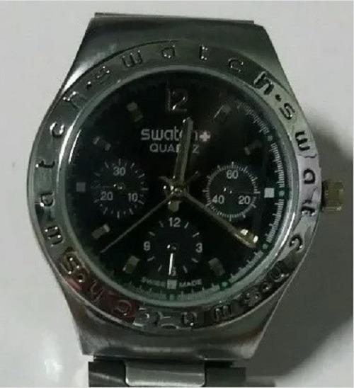 Relógio Suiço Swatch Crhono 100% Original Raro