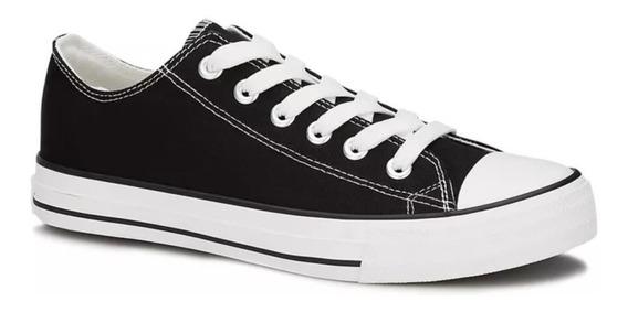 Luce Tenis Sneaker Sport Hombre Juvenil Vintage Negro2559605