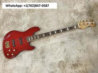 Fender American Deluxe Jazz Bass Fmt Crimson Red Burst