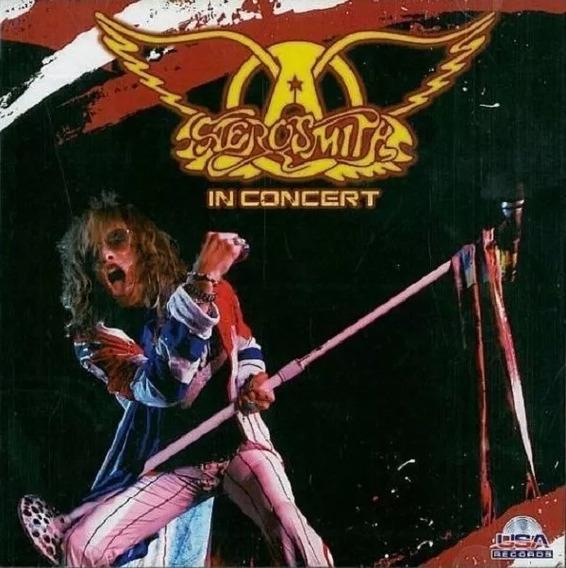 Aerosmith In Concert Cd - (6485)