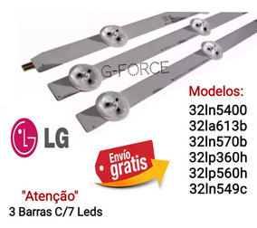 Kit Barra Led Tv Lg 32lp360h 32ln5400 32lp560h 32ln549c Novo