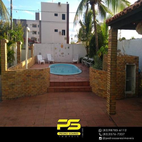 Casa Temporada Com 3 Dormitórios Para Alugar Por R$ 10.000 - Poço - Cabedelo/pb - Ca0707