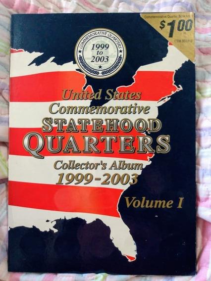 Álbum De Colección De Monedas De Estados Unidos 1999 A 2003