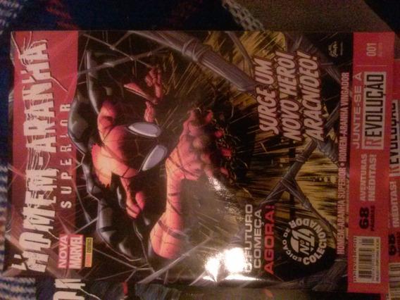 Homem Aranha Superior (nova Marvel) Nº 1-12