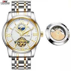 Relógio Luxo Masculino Automatico Tevise