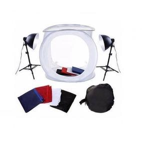 Kit Mini Estúdio Fotográfico Greika - Pk-st07 110v Ou 220v