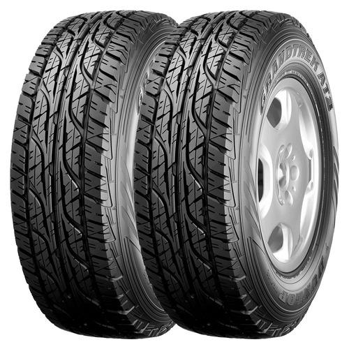 Kit 2 Neumáticos Dunlop 255 70 R16 At3 Grandtrek Ford Ranger