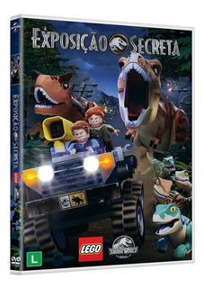 Dvd Original : Lego Jurassic World : A Exposição Secreta