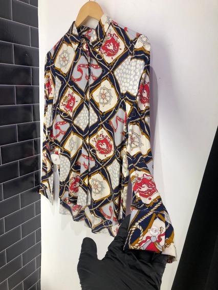 Camisa Graciela Falak De Mujer Estilo Gucci