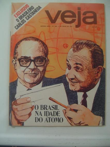 Revista Veja 356 Nuclear Ovni Na Bahia F5 Elton Caetano 1975