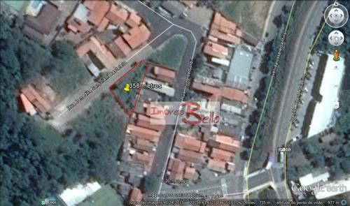 Imagem 1 de 5 de Terreno À Venda, 358 M² , Jardim Palladino - Itatiba/sp - Te0670