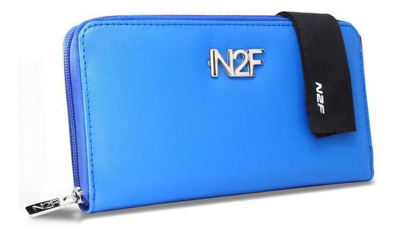 Cartera N2f Para Mujer Color Azul