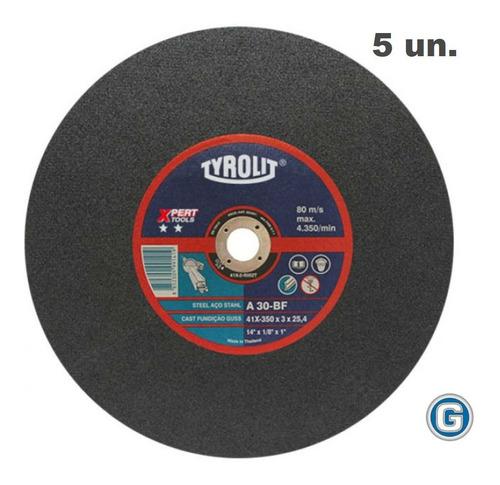 Disco Corte Tyrolit  Xpert De 350 X 3 Mm Caja X 5 Un Gramabi