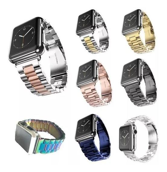 Correa Acero Iwatch Para Apple Watch 42 Y 38 Mm + Envío