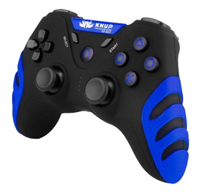 Controle Sem Fio Wireless Dualshock 4×1 Pc Ps1 Ps2 Ps3 Knup