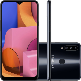Celular Samsung Galaxy A20s 32gb Dual Chip Android Tela 6.5
