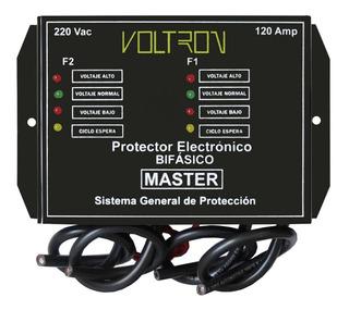 Protector De Voltaje Casa/local General 220v/120amp Voltron