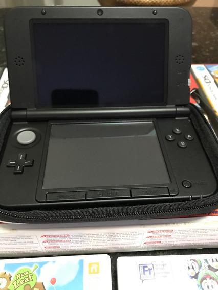 Nintendo 3ds Xl - Raridade - 32 Jogos - Colecionador!