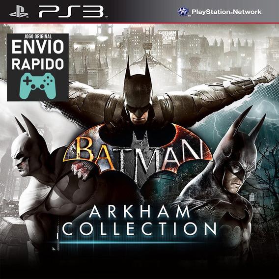 Batman Arkham Collection 3 Jogos - Jogos Ps3 Original