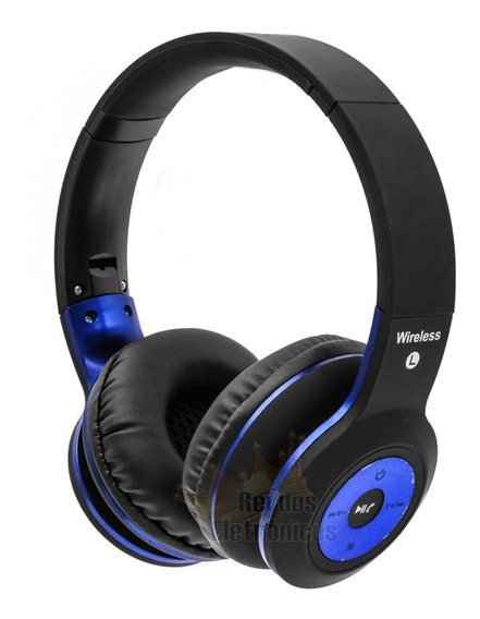 Fone Ouvido Headphone Bluetooth Wireless Mp3 Mp4 Confortável