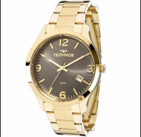 Relógio Technos Dourado Femino 2315acd/4c