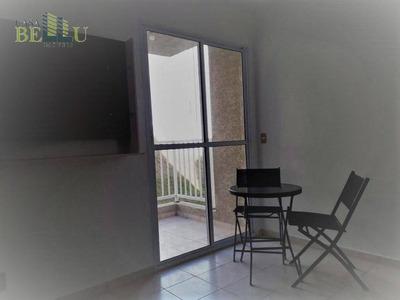 Apartamento Com 2 Dormitórios Para Alugar, 47 M² Por R$ 1.500/mês - Residencial São Luis - Francisco Morato/sp - Ap0074