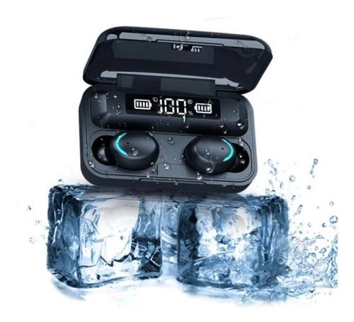 Imagen 1 de 4 de Audífonos Inalámbricos  F9 5c Tws Bluetooth 5.0 + Powerbank