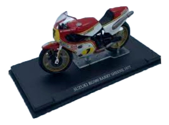 Motos De Competicion Gp Nº 10 Suzuki Rg500 B. Sheen