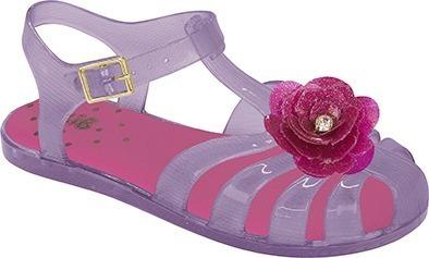 Sandália Infantil Flor Feminina Boneca Plástico 616103