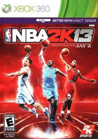 Jogo Nba 2k13 Xbox360 Ntsc Midia Fisica Original