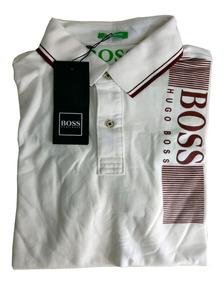 Camisa Polo Hugo Boss Algodão Piquet Verão 2019