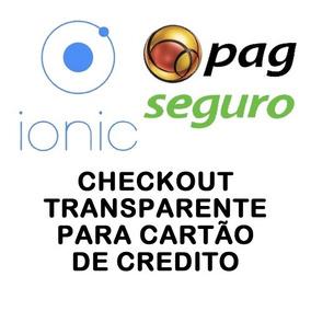 Pagseguro Checkout Transparente Para Ionic