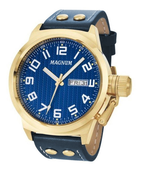 Relógio Masculino Magnum Analógico Ma32765a - Dourado