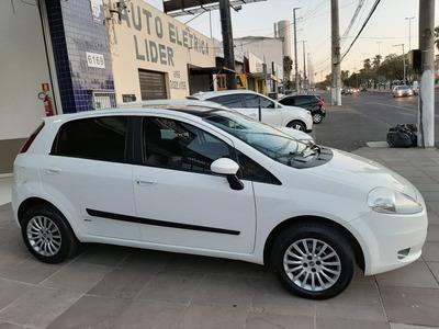 Fiat Punto 1.4 8v Elx Flex Placa I Ipva 2020 Pago Completo