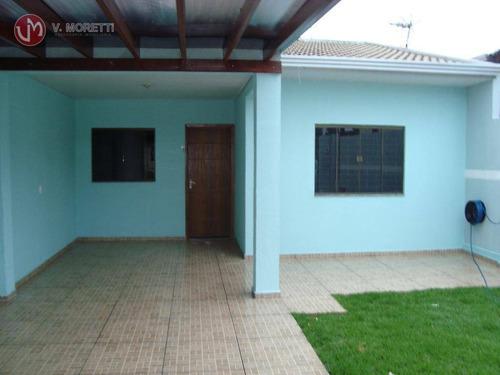 Imagem 1 de 14 de Casa Com 2 Dormitórios À Venda, 112 M² Por R$ 280.000,00 - Universitário - Cascavel/pr - Ca0152