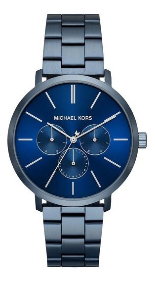 Relógio Michael Kors Blake Mk8704/1an C/ Nf E Garantia U