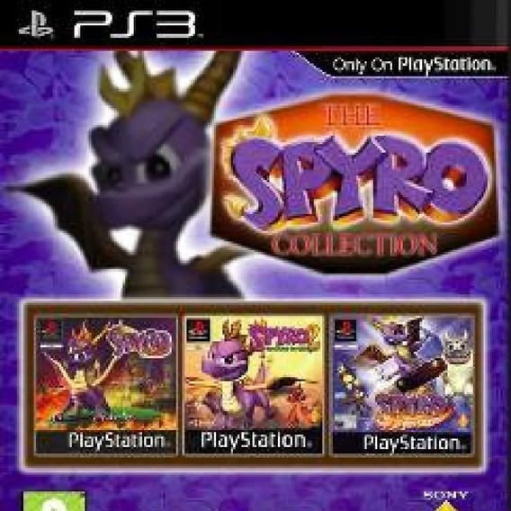 Spyro Collection Ps3 (clássico Ps1) Jogo Psn Comprar