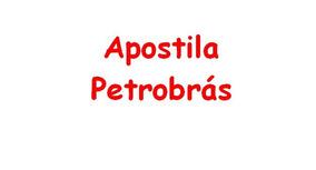 Apostila Petrobrás