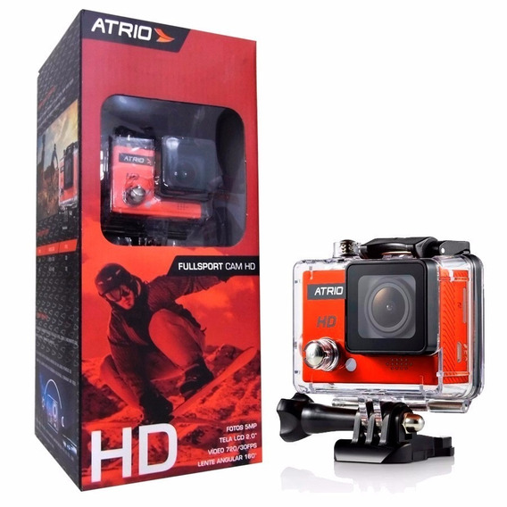 Camera De Acao Atrio Fullsport Cam Hd Dc186 Multilaser