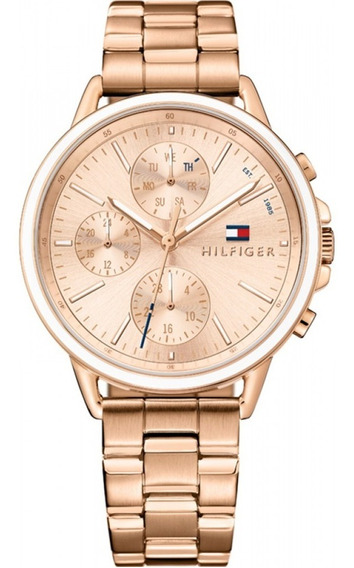 Relógio Tommy Hilfiger Feminino Aço Rose - 1781788 Original