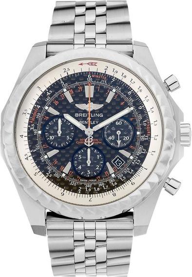 Relógio Breitling Bentley A25862 - Hm9u8723g. Pulseira Aço